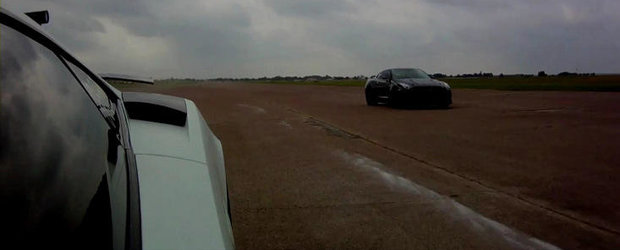 4.500 cai putere in actiune: Lambo Gallardo Twin-Turbo vs. AMS Alpha Omega