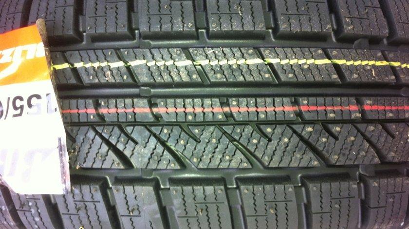 4 anvelope 155/65/14 Bridgestone de iarna noi