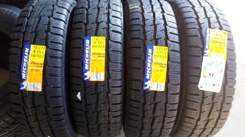 4 anvelope 195/70/15C Michelin de iarna noi