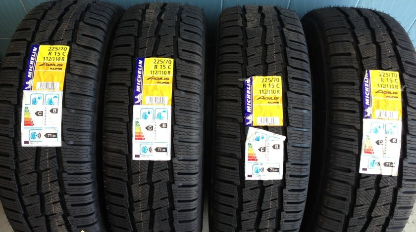 4 anvelope 225/70/15C Michelin de iarna noi