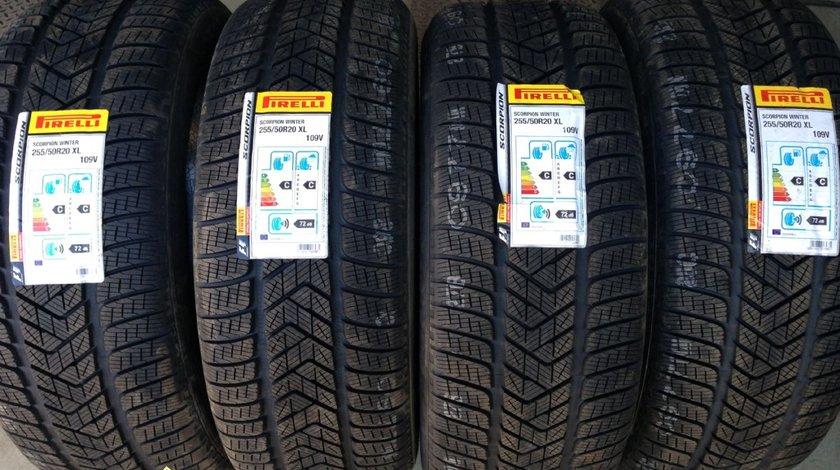 4 anvelope 255/50/R20 Pirelli de iarna