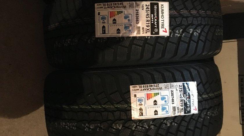 4 anvelope 275/40/19 - 245/45/19 KumHo pentru BMW seria 7 de iarna noi