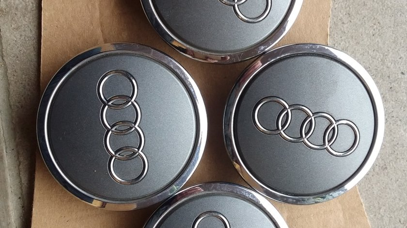4 Capace jante aliaj Audi, cod 4B0601170A Originale,