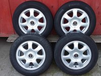 4 Jante 15'' Aliaj 5X100 Rover Mg-Zt Saab Subaru 195 65 15
