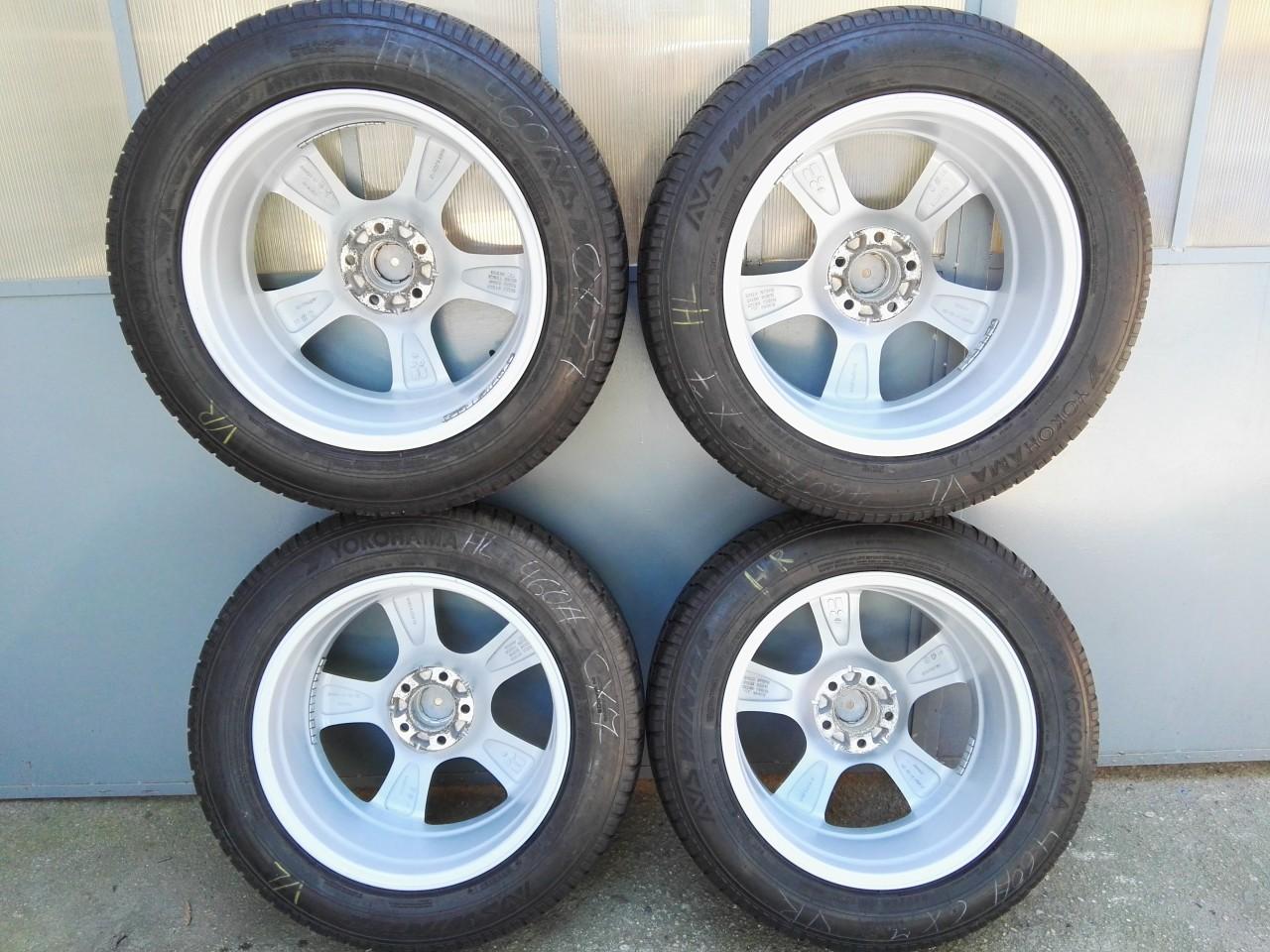 4 Jante aliaj R18, 5x114.3 cu 235/60 R18 Hyundai Mazda Nissan Renault
