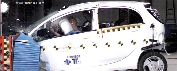 4 stele pentru Mitsubishi i-MiEV, prima masina electrica testata de Euro NCAP