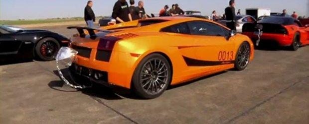 402 km/h dintr-un foc - Gallardo SL by Underground Racing!