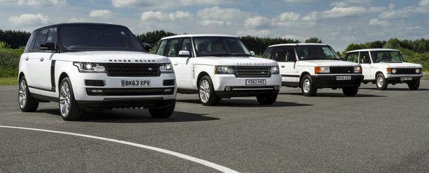 45 de ani de Range Rover. Istoria celui mai de succes off-roader al lumii
