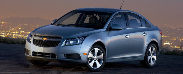 475.000 de Chevrolet Cruze au fost rechemate in service