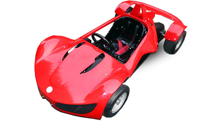 48V 1000W cursa GT ElectroCAR Razer + RG