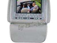 499 LEI! Tetiere GRI Cu Husa Dvd Usb Sd Divx Jocuri Modulator Fm Joystick uri