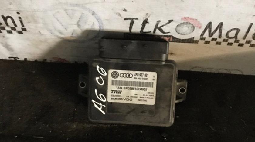 4F0907801 calculator frâna de mana Audi A6 4F C6