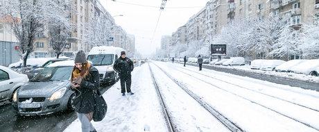 5 categorii de soferi care apar in Bucuresti odata cu zapada