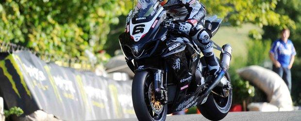 5 minute de viteza uluitoare cu motocicletele de la Isle of Man