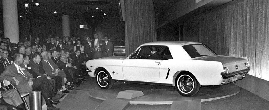 50 de ani de istorie pentru Ford Mustang