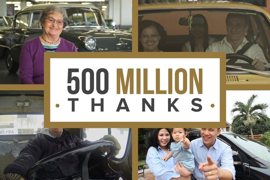 500 de milioane de masini General Motors