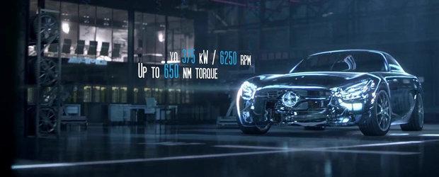 510 CP si 650 Nm: Mercedez dezvaluie cifrele magice ale noului AMG GT