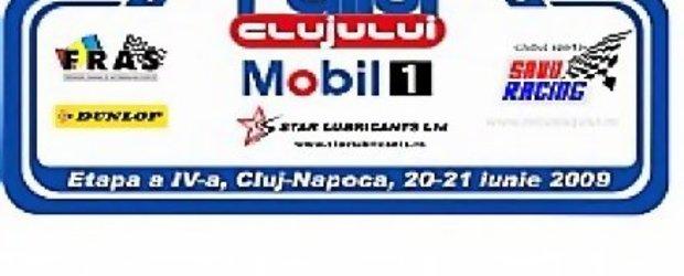 55 de echipaje inscrise la Raliul Clujului Mobil 1 Star Lubricants editia 2009