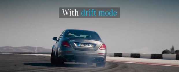 612 cai sub capota si drifturi la apasarea unui buton. Uite in actiune noul Mercedes E63 AMG S 4Matic+