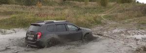 7 minute de ABUZ cu Dacia Duster intr-un poligon de TANCURI. Video pentru amatorii de noroaie
