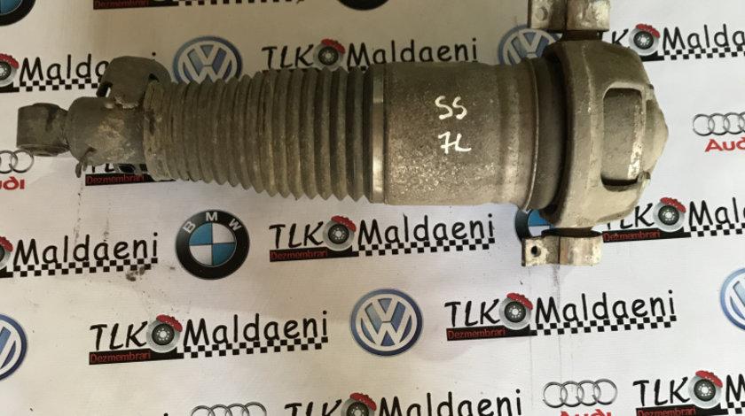 7L6512021AG perna aer stanga spate VW Touareg 7L