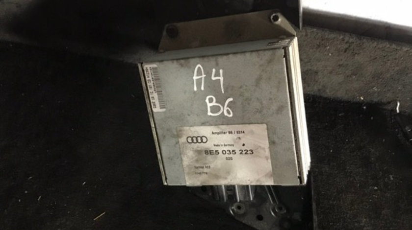 8E5035223 amplificator audio Audi A4 B6