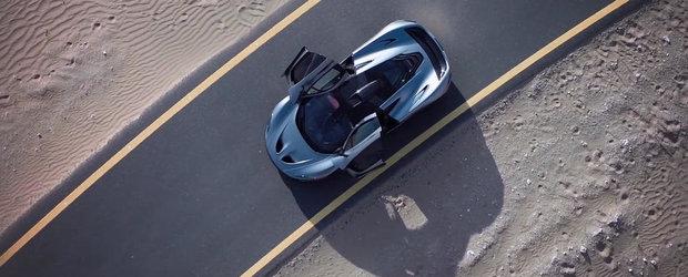916 CP si aerodinamica activa: McLaren P1 pare venit de pe alta planeta!