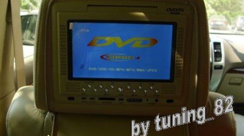 950 Lei ! Set Tetiere BEJ Cu Dvd Player Lentila Sony Husa Usb Sd Divx Jocuri Modulator Fm Joystick Wireless