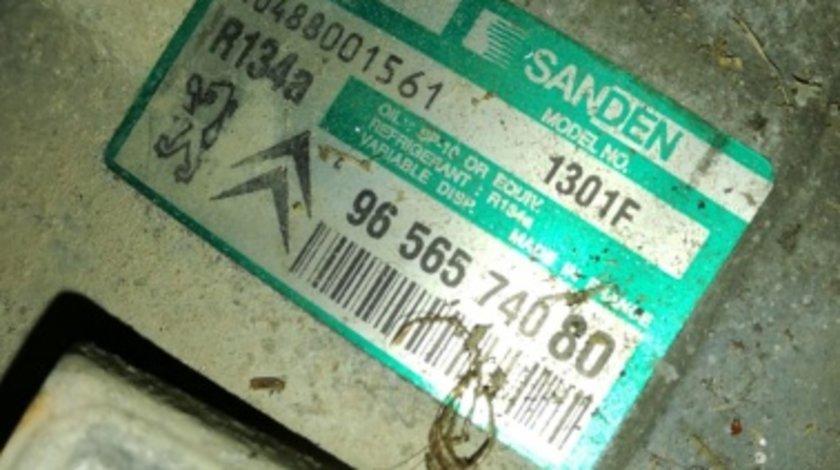 9656574080 compresor ac clima peugeot 407 2.0hdi 136hp