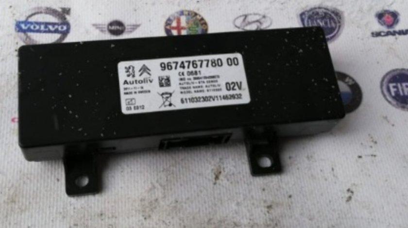 9674767780 00 modul calculator bluethoot peugeot 508 sw 2.0hdi motor rhf 140cp