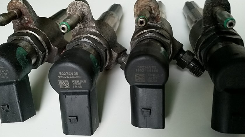 9802448680 VDO 9674973080 Injector Cetroen Peugeot Ford Volvo 1.6 A2C59513556