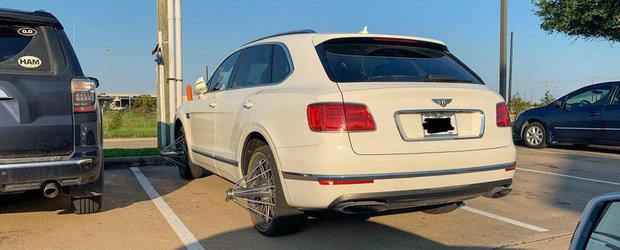A ajuns de rasul internetului dupa ce a montat jantele ASTEA pe un Bentley Bentayga
