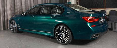 A ales combinatia de culori perfecta pentru limuzina cu motor V12. Arata pur si simplu demential