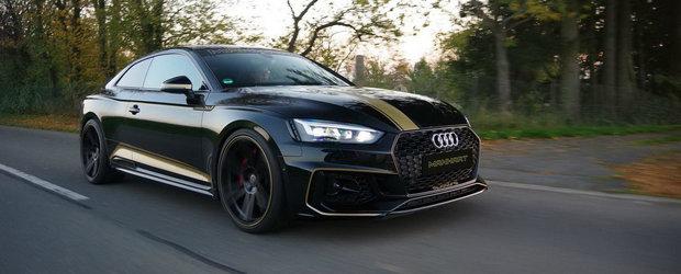 A apelat la Manhart pentru a-si face noul Audi RS5 mai puternic. Cu ce se lauda acum coupe-ul de performanta