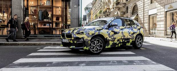 A atras toate privirile. BMW a scos noul X2 la plimbare prin Milano imbracat la patru ace