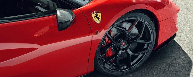 A atras toate privirile la un eveniment auto din Monaco. Ferrari-ul a fost tunat de Pogea si are 820 de cai