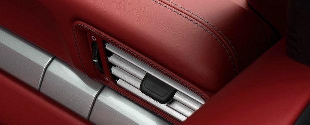 A cheltuit cateva mii bune de euro pe interiorul noului sau 911 Cabrio. Ce are atat de special decapotabila