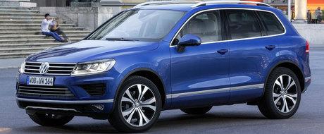 A comis-o din nou. Volkswagen prins cu dispozitive ilegale care manipuleaza emisiile lui Touareg