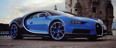 A condus in premiera noul Bugatti Chiron. Ce impresie i-a lasat monstrul de 1.500 de cai