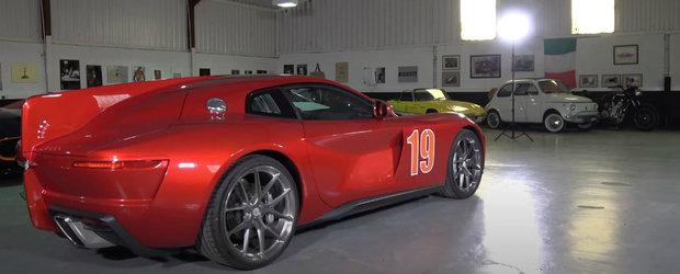 A condus noua masina bazata pe Ferrari F12. Vor exista numai 15 exemplare