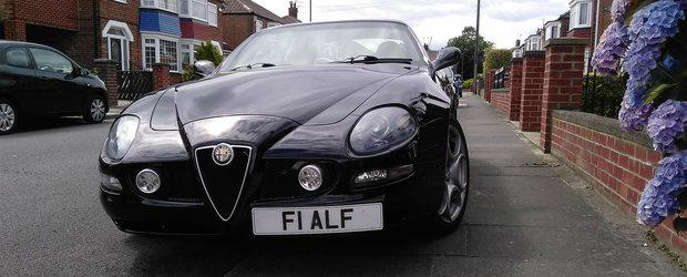 A crezut ca are in fata o Alfa Romeo 8C, insa cand s-a apropiat mai mult...