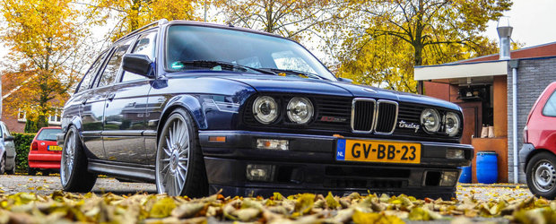 A crezut ca nu vede bine. Se numara printre cele mai rare BMW-uri E30, dar el a reusit sa il pozeze!
