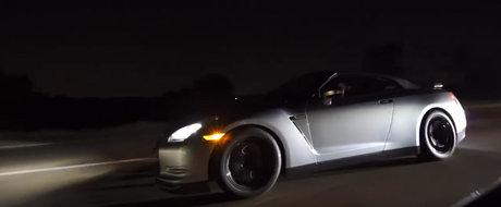 A crezut ca sta pe loc. Un Nissan GT-R de 1.200 de cai a fost umilit de un Viper Twin-Turbo
