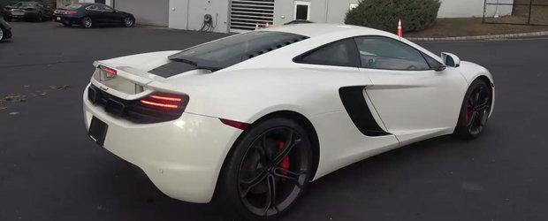 A cumparat cel mai ieftin McLaren din tara. Ce probleme a descoperit imediat la bolidul cu motor V8