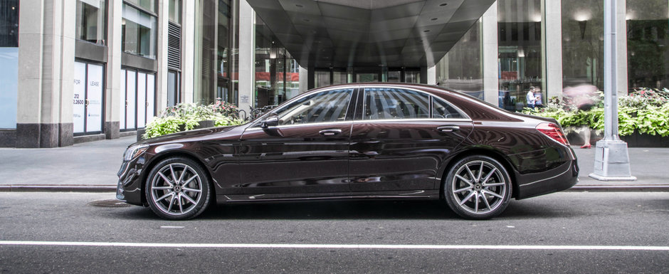 A cumparat in 2017 un Mercedes S-Class nou-nout dar nu il conduce de frica. Uite motivul