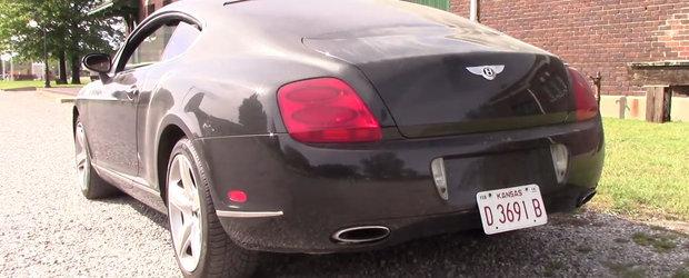 A cumparat pe nevazute cel mai ieftin Bentley GT de pe piata. Cand a ajuns la service pentru verificari a avut parte de un soc
