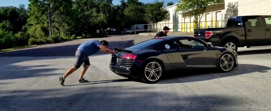 A Cumparat Un Audi R8 Declarat Dauna Totala Ce A Observat Cand A