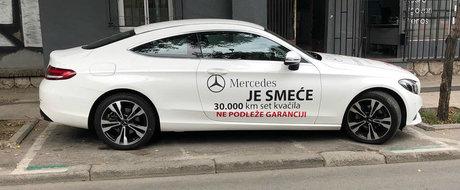 "A cumparat un C-Class nou nout dar dupa 30.000 de km a ramas fara ambreiaj. ""Mercedes este un gunoi!"""