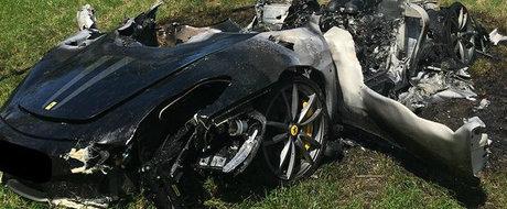 A dat 260.000 de lire pe un Ferrari, iar dupa numai O ORA l-a facut praf pe autostrada
