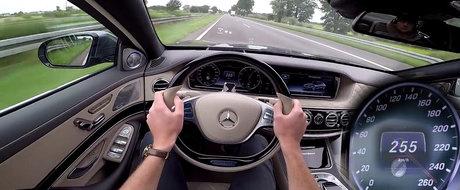 A dat masajul si sampania pe motorul V12. Test de acceleratie cu Maybach S600!